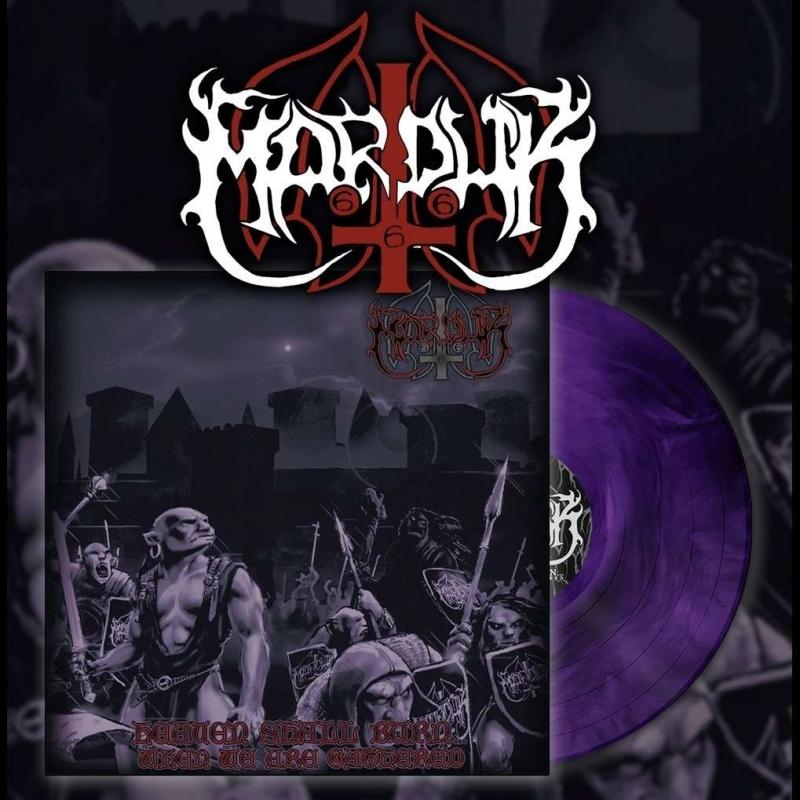 Marduk - Heaven Shall Burn... - LP (Purple Marble Vinyl)