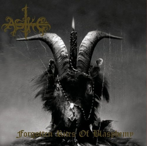 Aske - Forgotten Rites Of Blasphemy- CD
