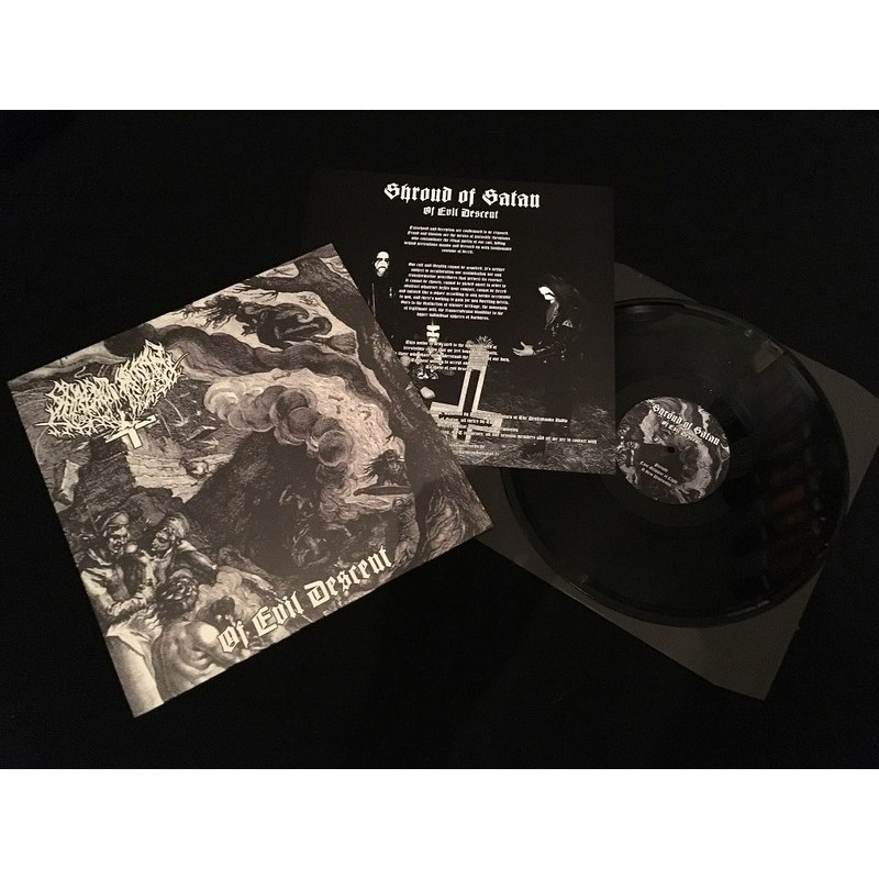 Shroud of Satan - Of Evil Descent - LP