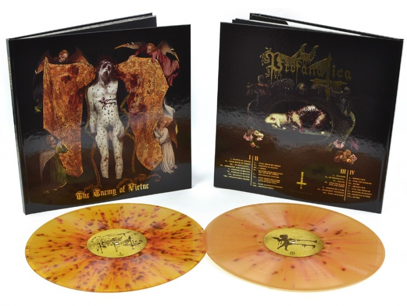Profanatica - The Enemy Of Virtue - Deluxe DLP