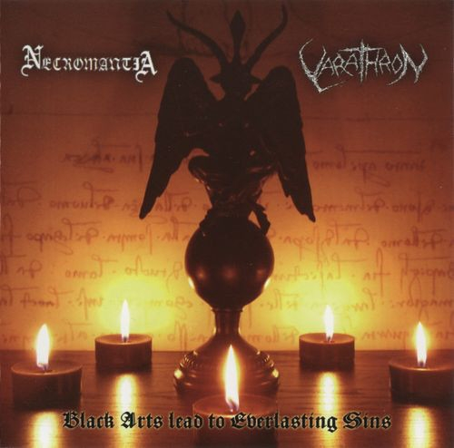 Necromantia / Varathron - Black Arts Lead To Everlasting Sins - CD