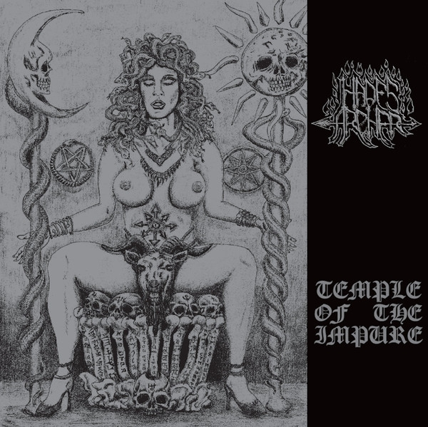 Hades Archer ‎- Temple Of The Impure - LP