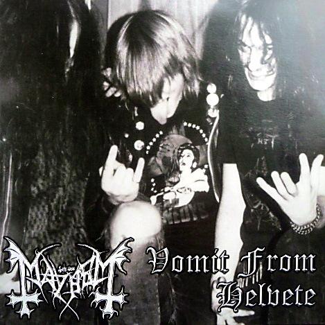 Mayhem - Vomit From Helvete - CD