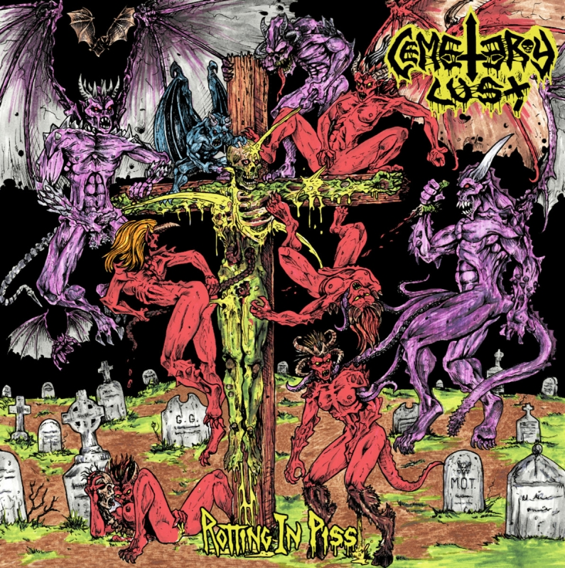 Cemetary Lust - Rotting in Piss - LP