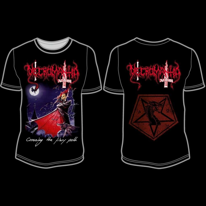 Necromantia - Crossing the Fiery Path - T-Shirt