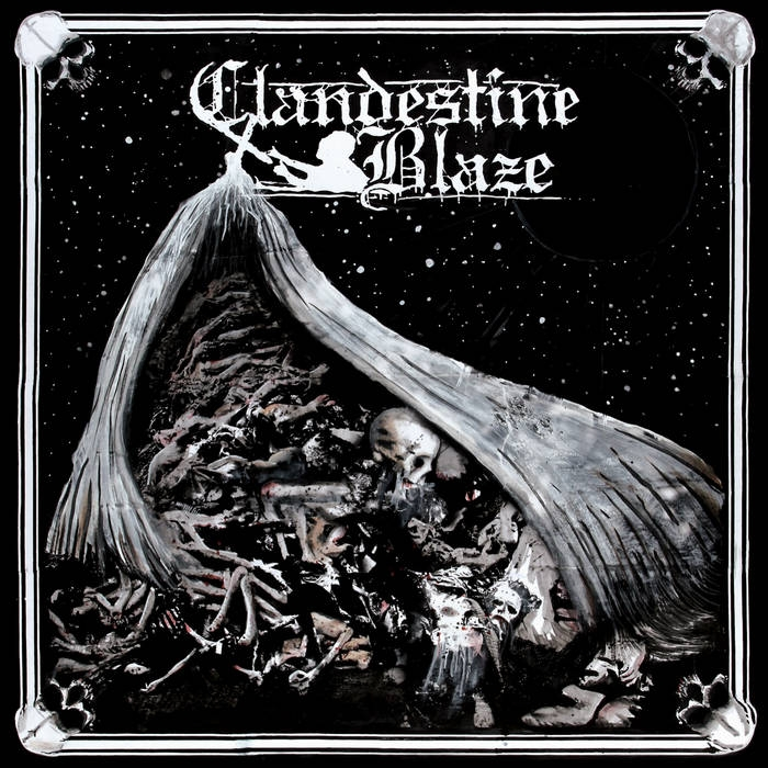 Clandestine Blaze - Tranquility Of Death - CD