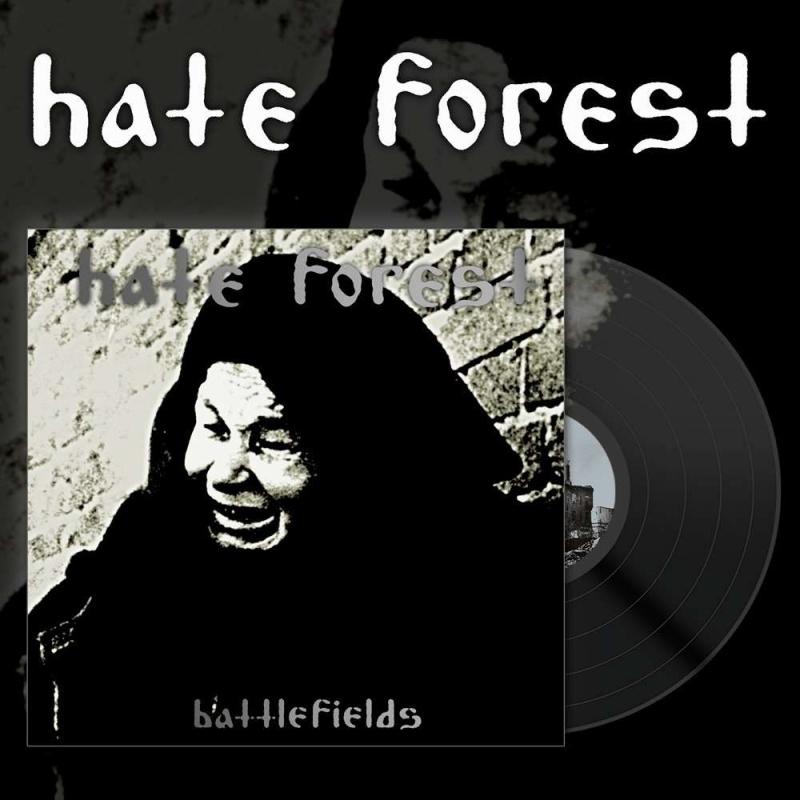 Hate Forest - Battlefields - LP