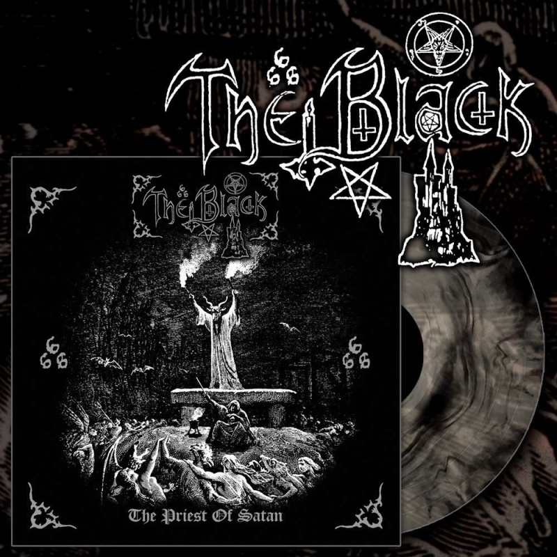 The Black - The Priest of Satan - LP