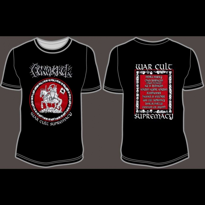 Conqueror - War.Cult.Supremacy - Shirt