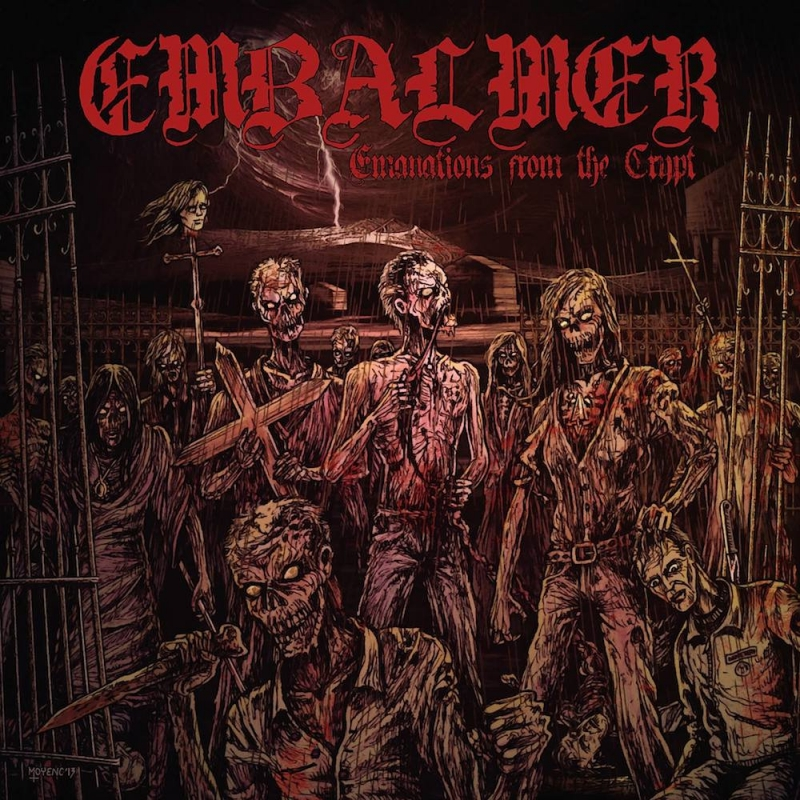 Embalmer - Emanations From The Crypt - Gatefold LP
