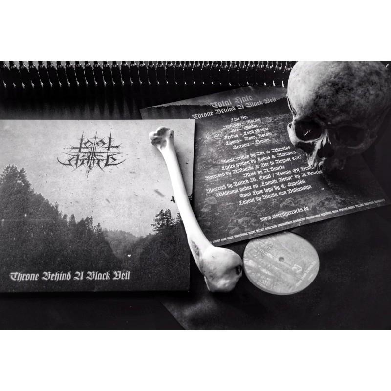 Total Hate - Throne Behind A Black Veil - LP