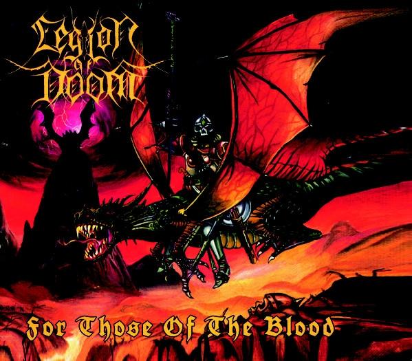 Legion of Doom -  For Those Of The Blood - Digi CD