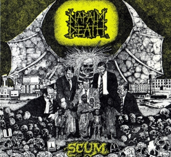 Napalm Death - Scum + Bonus - Digipak CD