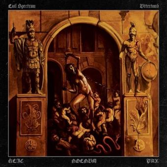Evil Spectrum / Uttertomb - Heic Noenum Pax - Split LP