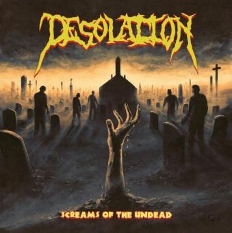 Desolation - Screams Of the Undead - CD