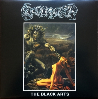 Necromantia / Varathron - The Black Arts / The Everlasting Sins - LP