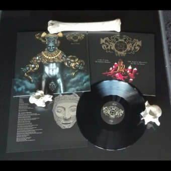 Saqras Cult - The 9th King - LP