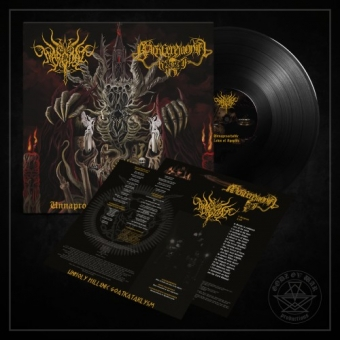 Wargoat / Black Ceremonial Kult - Unapproachable Laws of the Abyss - LP