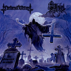 Nocturnal Graves / Hell Spirit - Split-CD