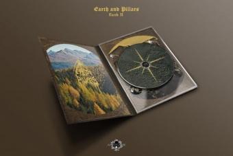 Earth and Pillars - Earth II - A5 Digipak CD
