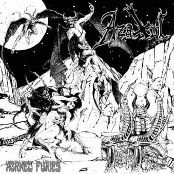 Azaxul - Horned Furies - CD