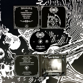 Baxaxaxa - The old Evil - Digipak MCD