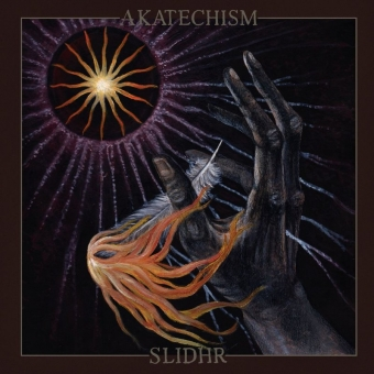 Akatechism / Slidhr - Amongst The Lost Light Of Misaligned Stars - 7 EP