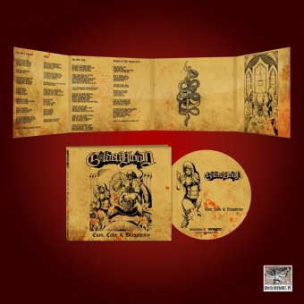 Golden Blood -  Cum, Coke & Blasphemy - Digi CD