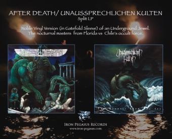 After Death / Unaussprechlichen Kulten - Gatefold Split LP