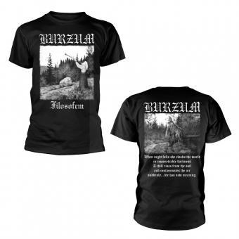 Burzum - Filosofem - T-Shirt (Black)
