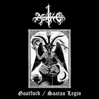 Aske - Goatfuck / Saatan Legio - LP