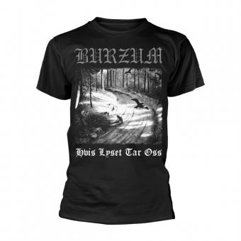 Burzum - Hvis lyset tar oss - T-Shirt (Black)