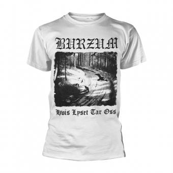 Burzum - Hvis lyset tar oss - T-Shirt (White)