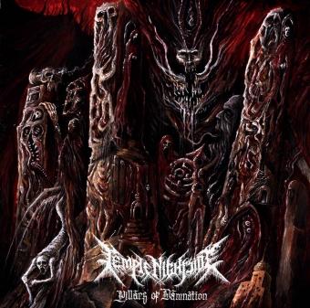 Temple Nightside - Pillars of Damnation - LP