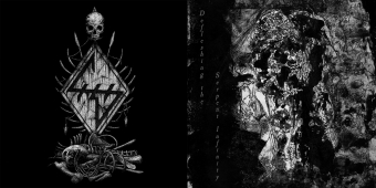 Heresiarch / Antediluvian - Defleshing the Serpent Infinity - Gatefold Split MCD