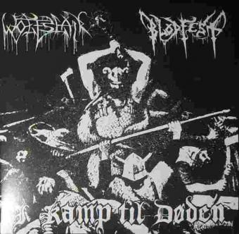 Blodfest / Wolfslair - I Kamp Til Døden - Split LP