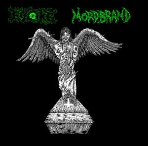 Evoke / Mordbrand - Split LP