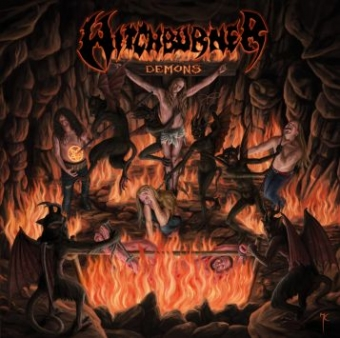 Witchburner - Demons - LP & Pic LP