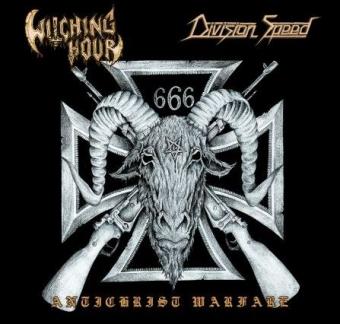 Witching Hour/Division Speed - Antichrist Warfare - Split 10MLP