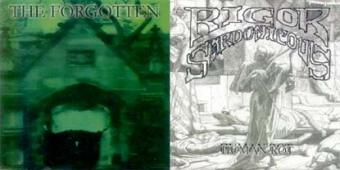 The Forgotten / Rigor Sardonicous - Split EP