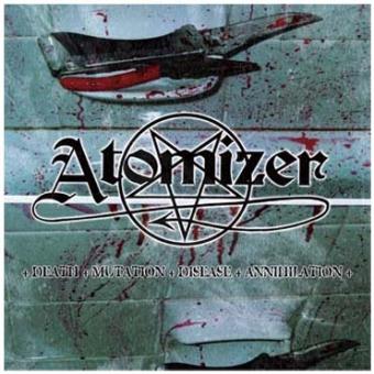 Atomizer - Death, Mutation, Disease, Annihilation - CD