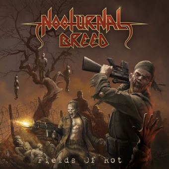 Nocturnal Breed - Fields of Rot - CD