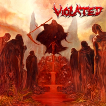 Violated - Only Death Awaits - CD