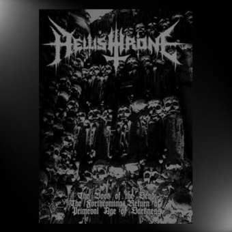 Hellishthrone - The Book of the Dead - A5-Digisleeve-CD