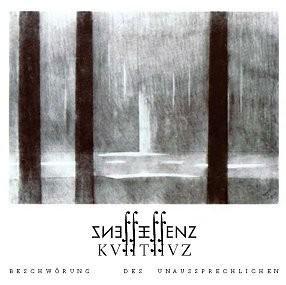 Essenz - KVIITIIVZ - Beschwörung des Unaussprechlichen - CD