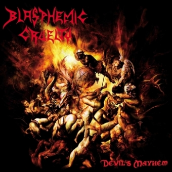 Blasphemic Cruelty - Devils Mayhem - CD