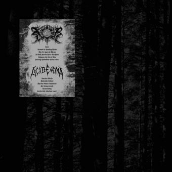 Xasthur / Acid Enema - Split-LP
