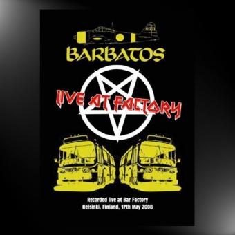 Barbatos - Live at Factory - DVD