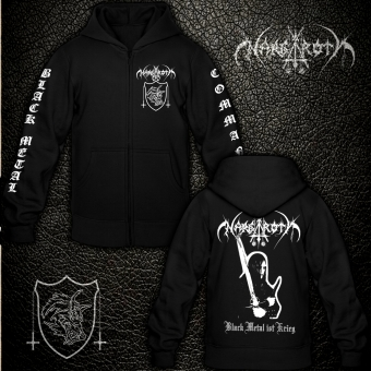 Nargaroth - Black Metal ist Krieg - Hooded Zipper