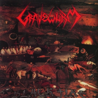 Gravewürm - Black Fire - CD